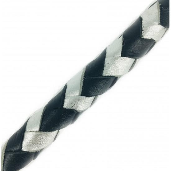 Maxiflet, sort/sølv