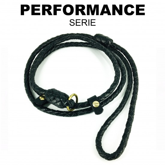 Retriever-leash, black