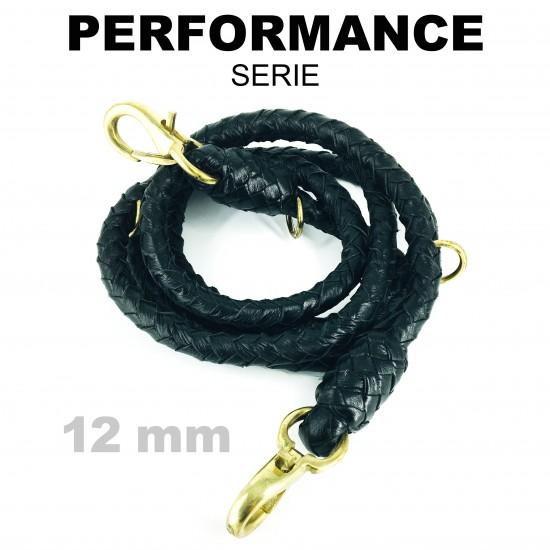 Lead rope, black