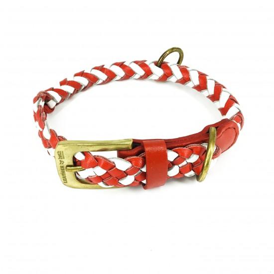 Maxiflet DK, rød/hvid