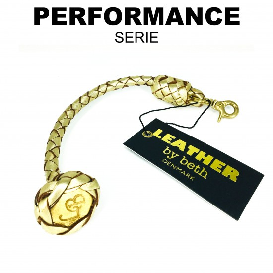 Show leash 20cm, carabiner
