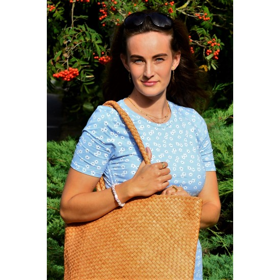 India shopper, hand-woven