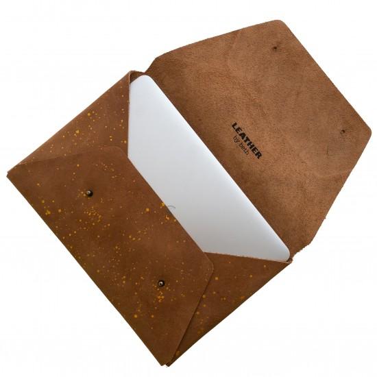 Envelope cover, gold