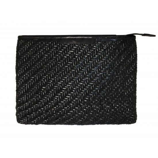 India cover, hand-woven